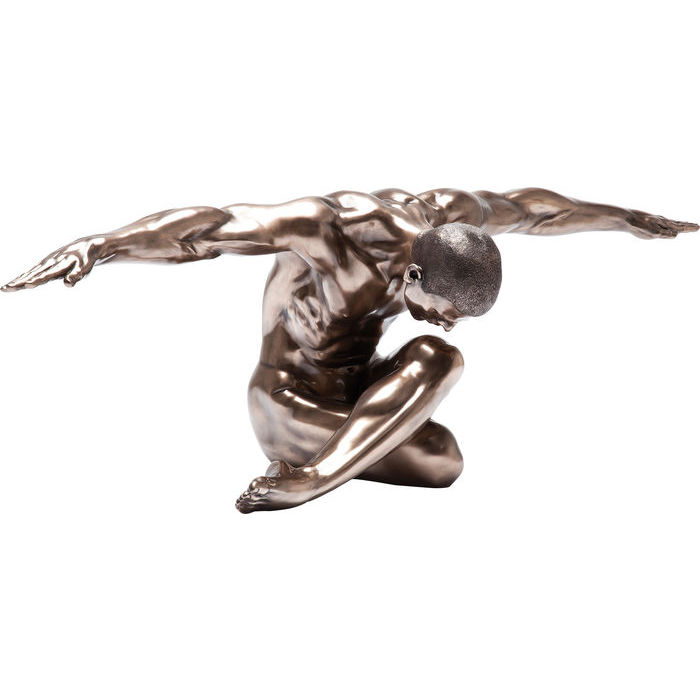 statua uomo bronzo kare design lops arredi