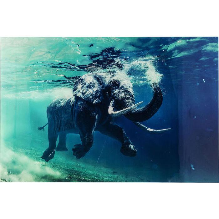 quadro elefante originale kare design lops arredi