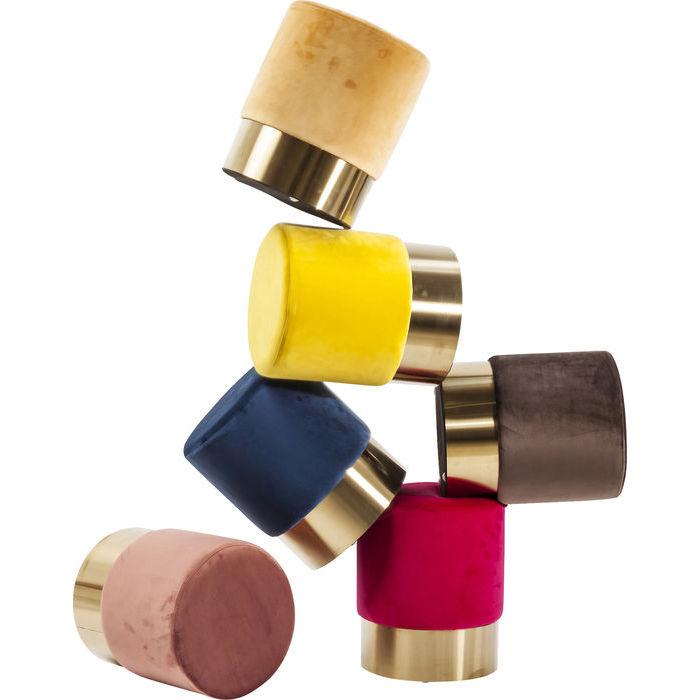 pouff colorati kare design lops arredi