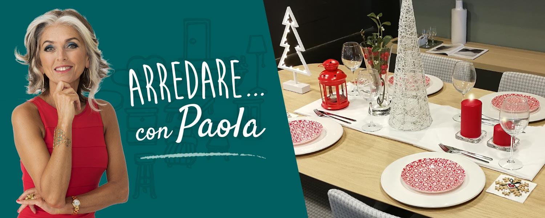 Arredare casa per feste Natale Paola Marella Lops