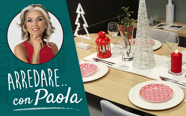 Una tavola speciale per le feste di Natale! Con Paola Marella