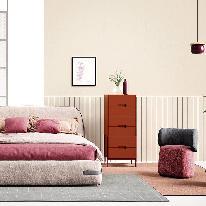 I colori migliori per arredare la camera da letto | Lops Arredi