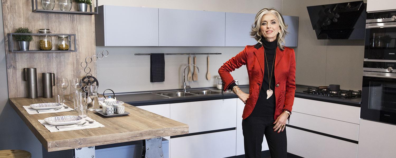 Come arredare l\'open space: cucina e soggiorno insieme | Lops Arredi