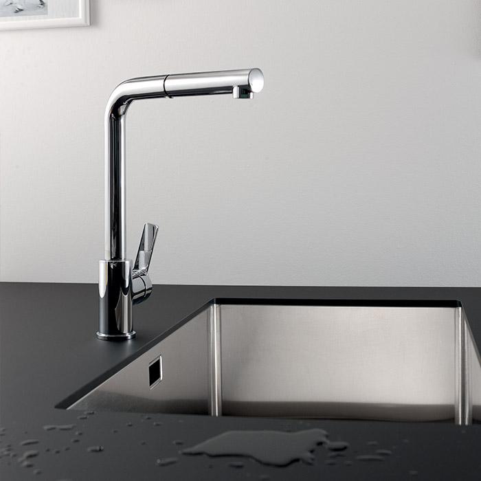 Scegli un rubinetto minimal per il tuo open space, diventerà un elemento d'arredo per tutto l'ambiente