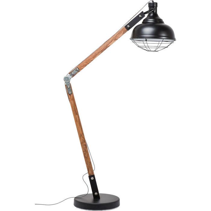 Idee regalo Lops Kare lampada da terra legno