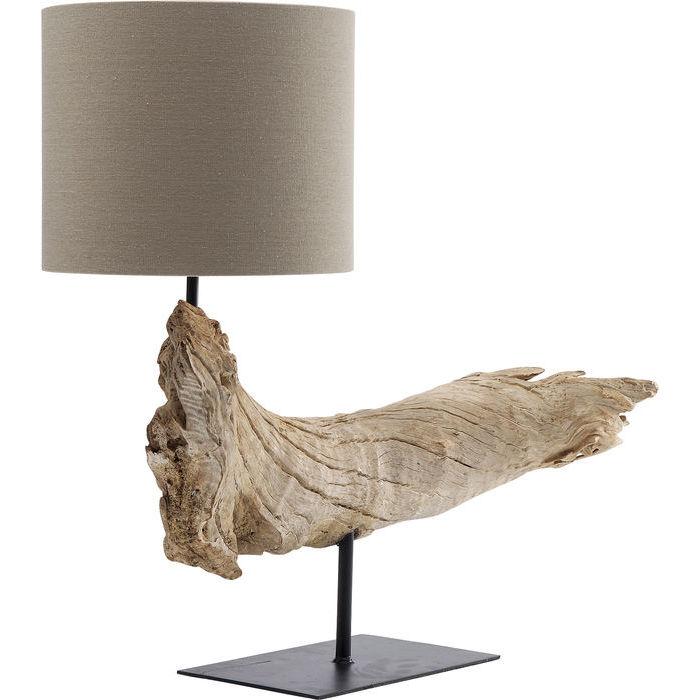 Idee regalo Lops Kare lampada legno etnico