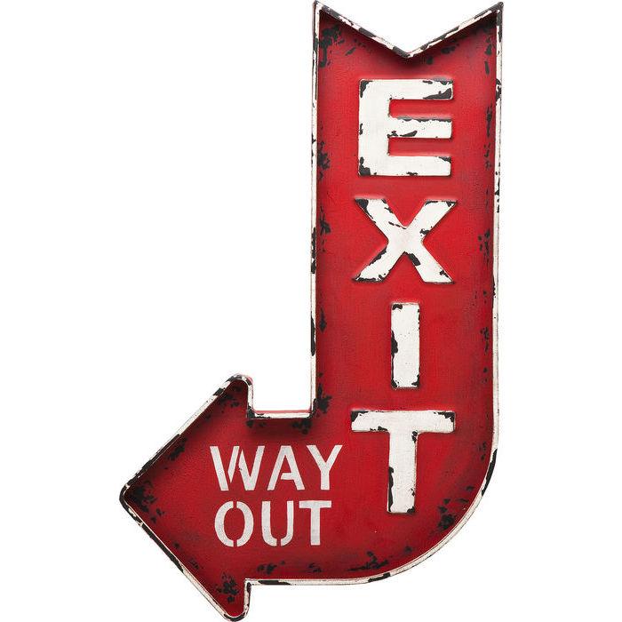 Idee regalo Lops Kare scritta exit