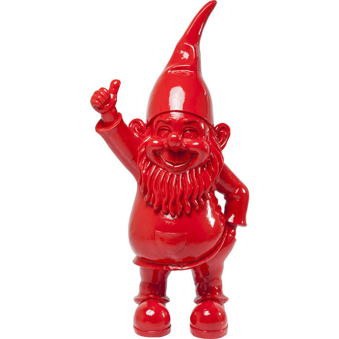 Idee regalo Lops Kare statua gnomo rosso