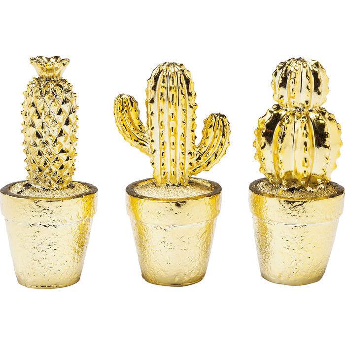 Idee regalo Lops Kare vasi piante grasse dorati