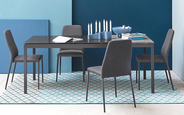 7 idee per abbinare tavoli e sedie