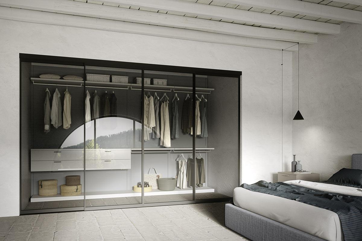 Cabine armadio camere da letto letti armadi como e - Interni per cabine armadio ...