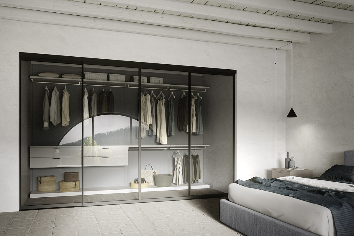 Cabina armadio moderna Easy Lops Progetto Rio - cabine-armadio ...