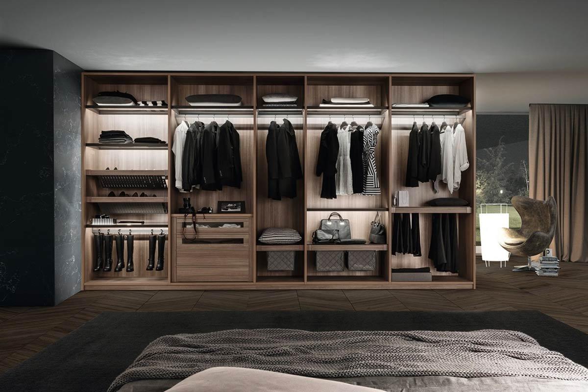 Cabina armadio moderna presotto progetto tecnopolis for Presotto mobili
