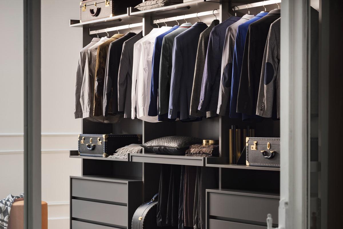 Cabina armadio moderna su misura Collezione Lops Ben - Acquistabile ...