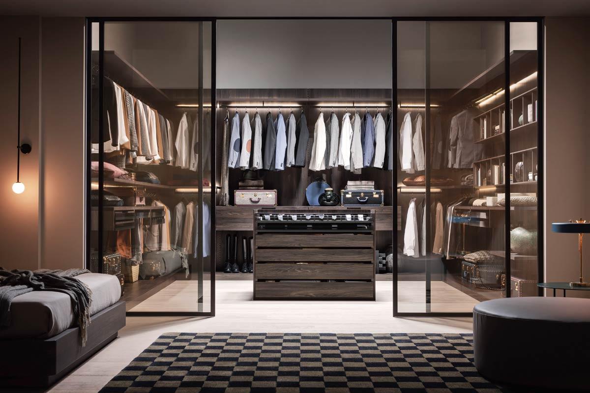 Cabina armadio moderna Top Lops Break - Acquistabile in Milano e ...