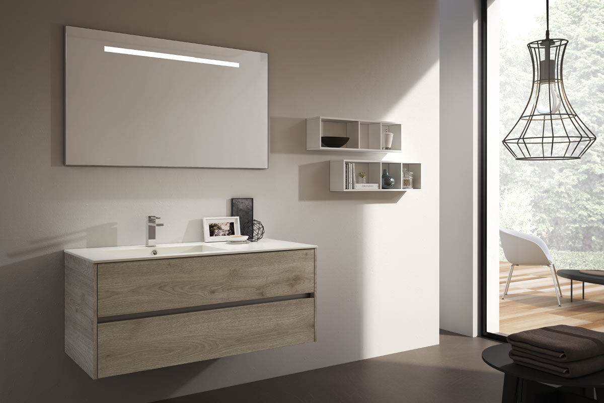 Immagini Arredo Bagno Moderno.Arredo Bagno Moderno Easy Lops New Progetto 3 Bagni