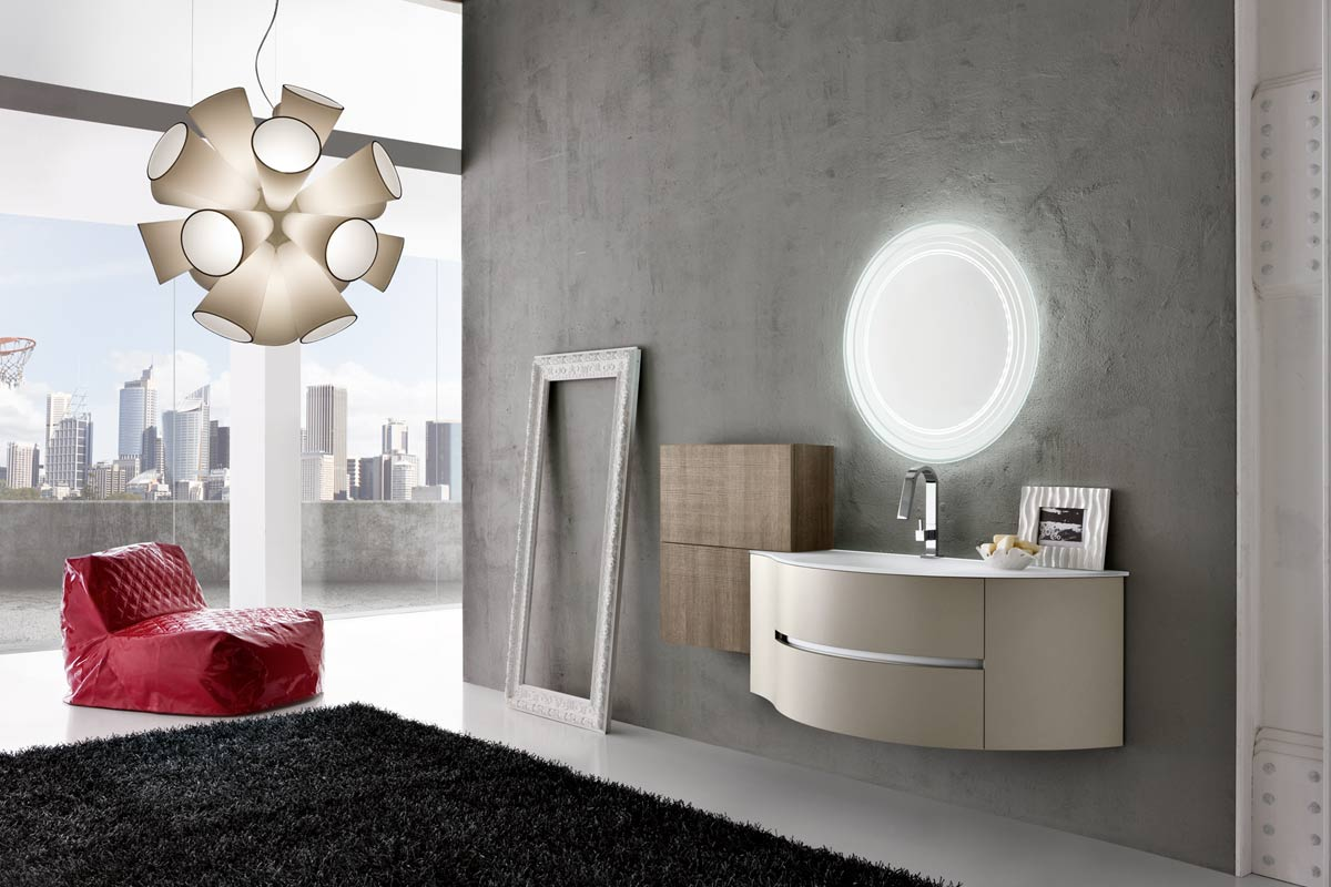 arredo bagno moderno lops top and one consolle
