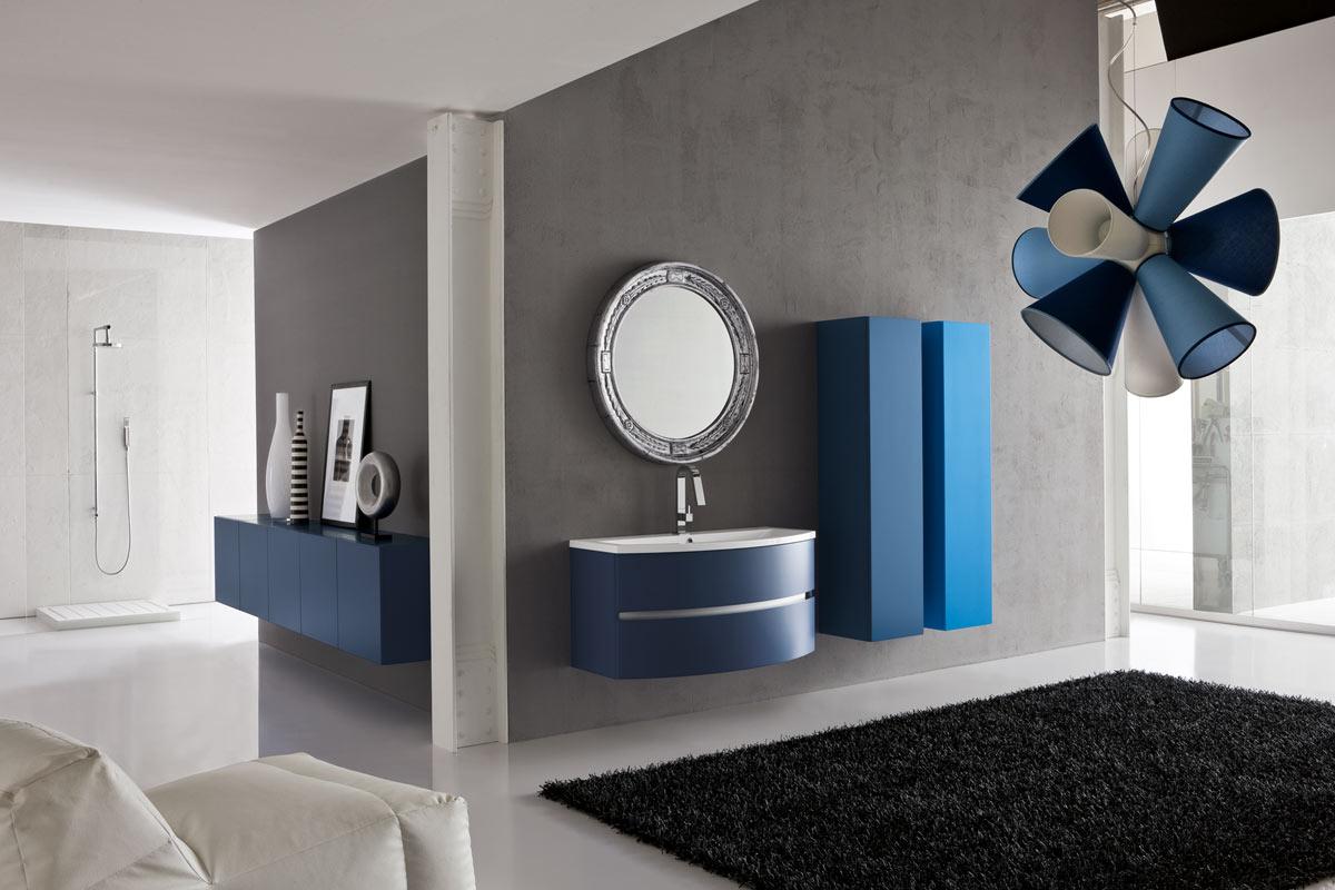 arredo bagno moderno top lops and one consolle - acquistabile in ... - Arredo Bagno Milano E Provincia