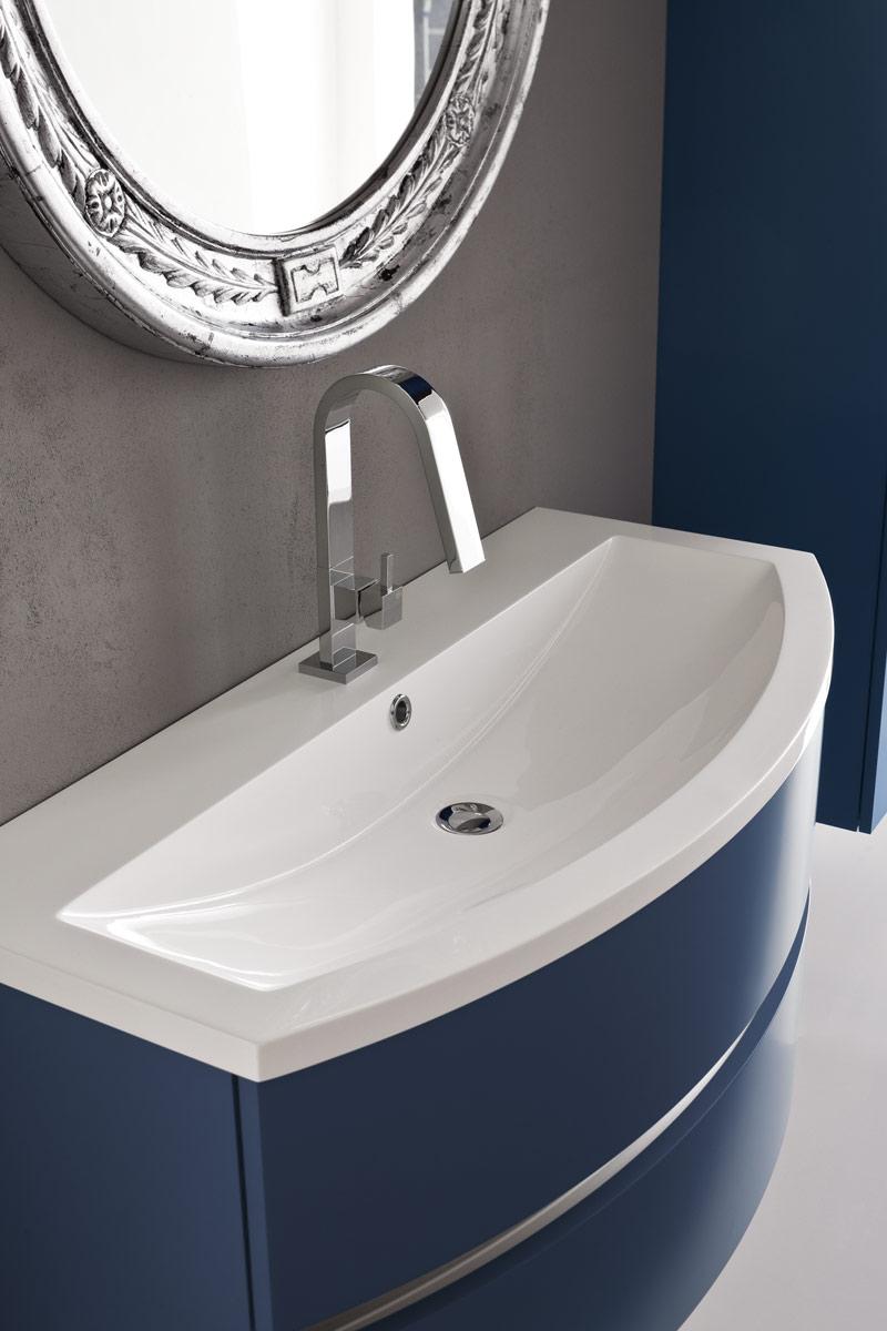 arredo bagno moderno collezione lops and one consolle
