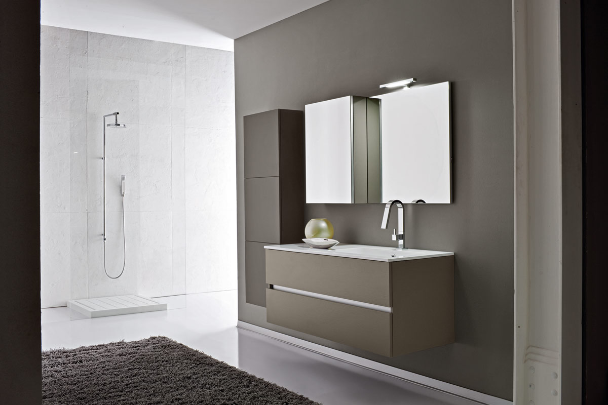 Arredo bagno moderno Top Lops And One consolle - Acquistabile in ...