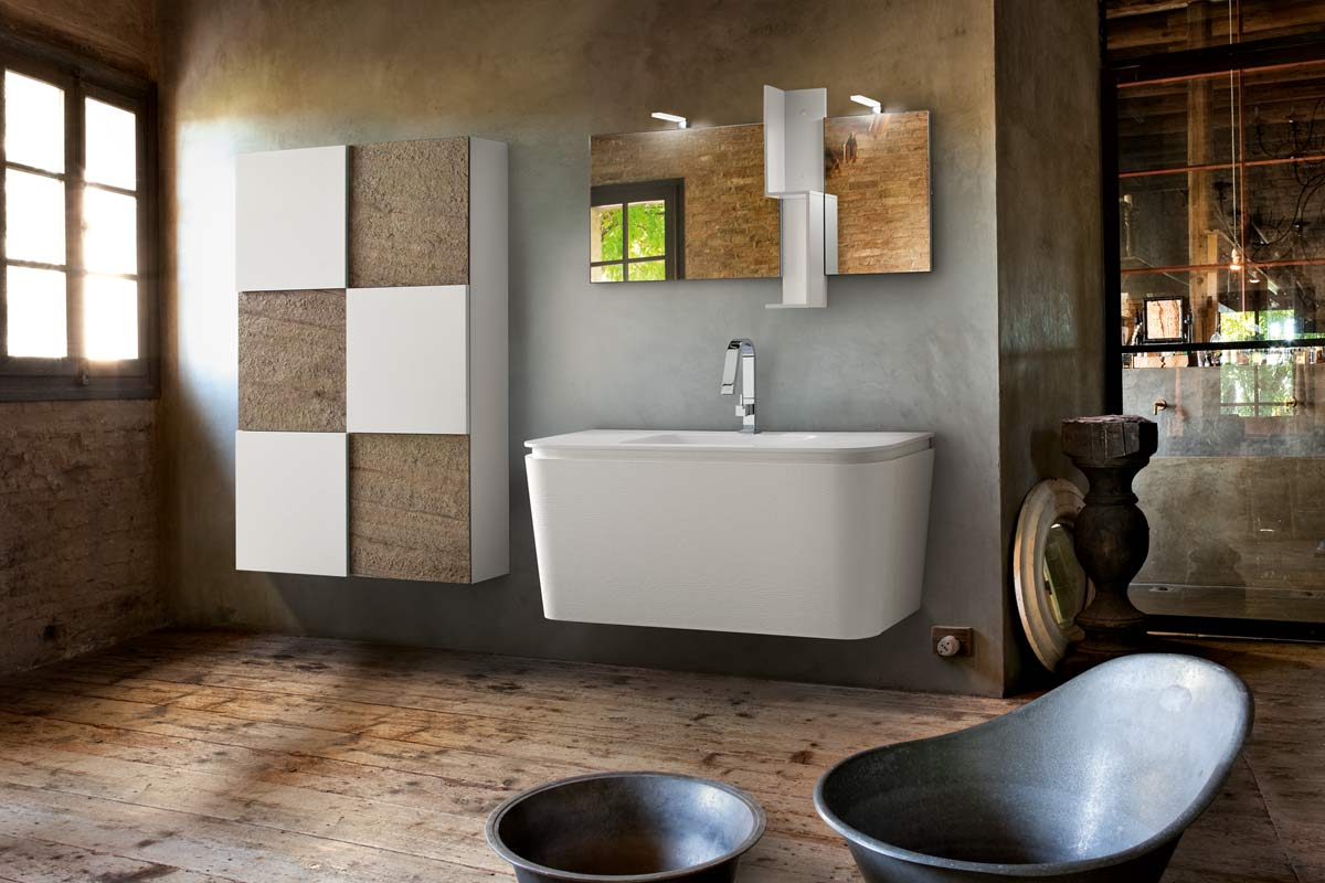 Top design bagni moderni la08 pineglen for Top arredo