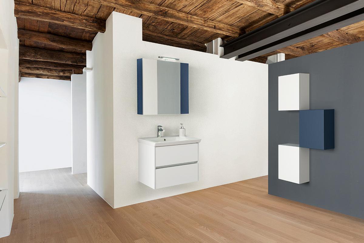 Arredo bagno moderno top lops millestone acquistabile in for Lops arredi distretto del design trezzano