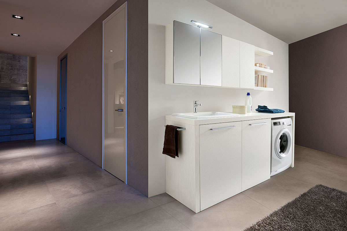 arredo bagno moderno top lops laundry lavanderia - acquistabile in ... - Arredo Bagno Lavanderia