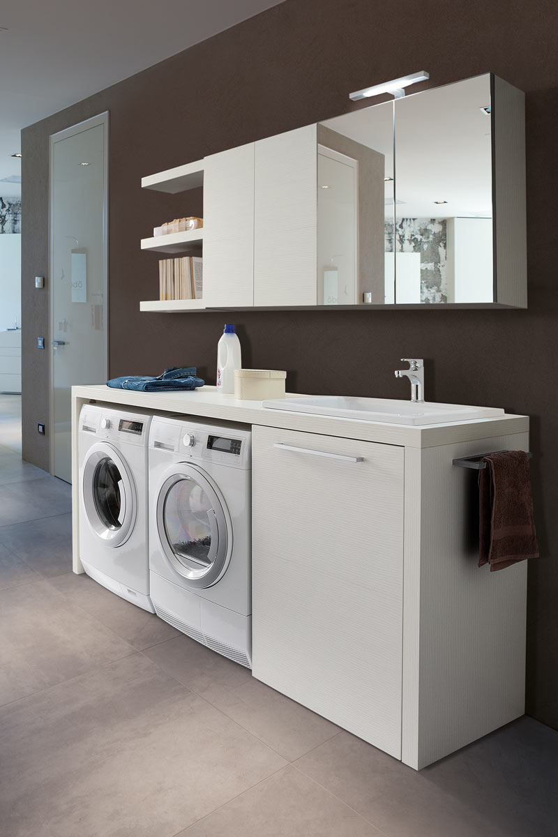 Arredo bagno moderno top lops laundry lavanderia for Top arredo