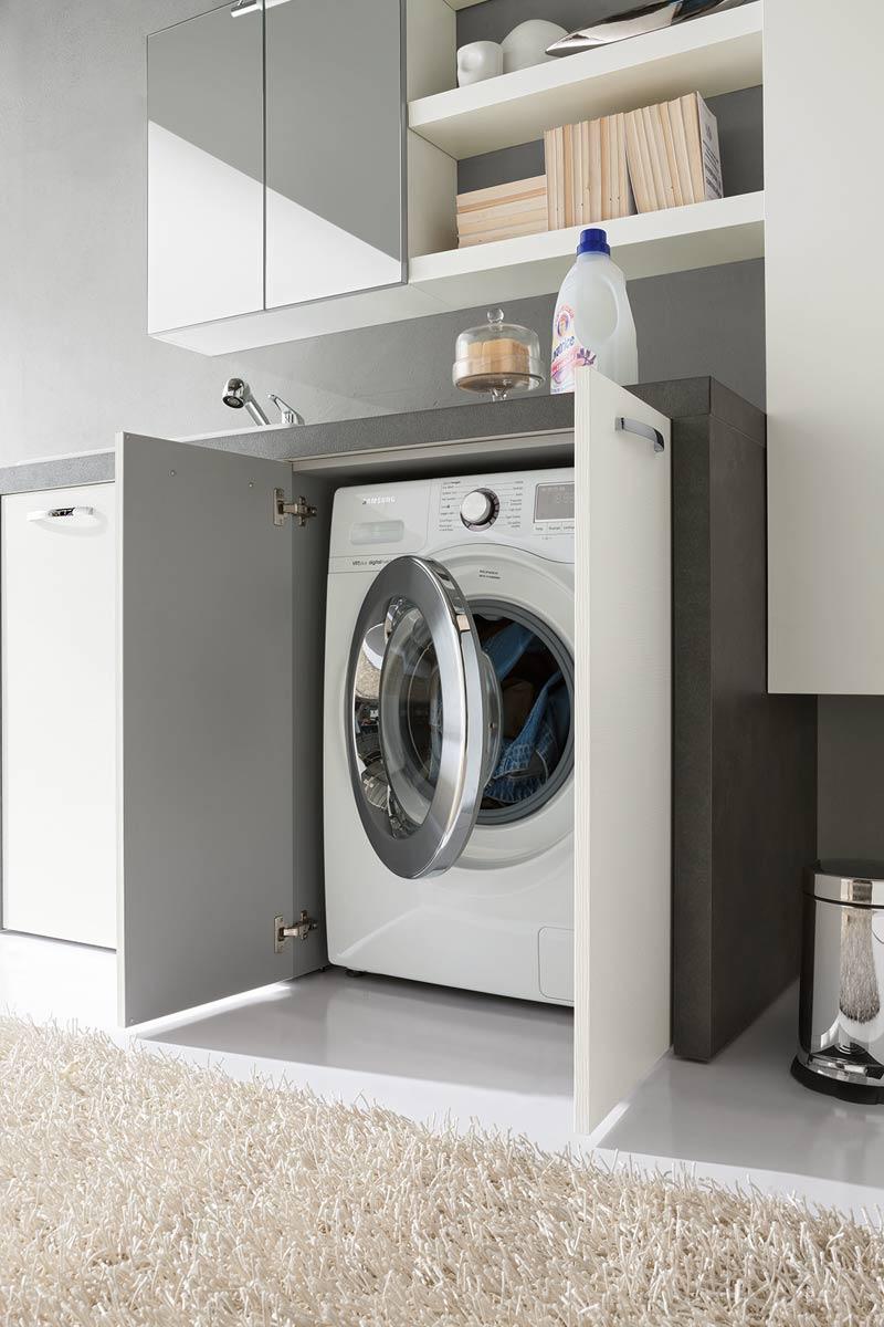 arredo bagno moderno top lops laundry lavanderia - acquistabile in ... - Foto Arredo Bagno Moderno