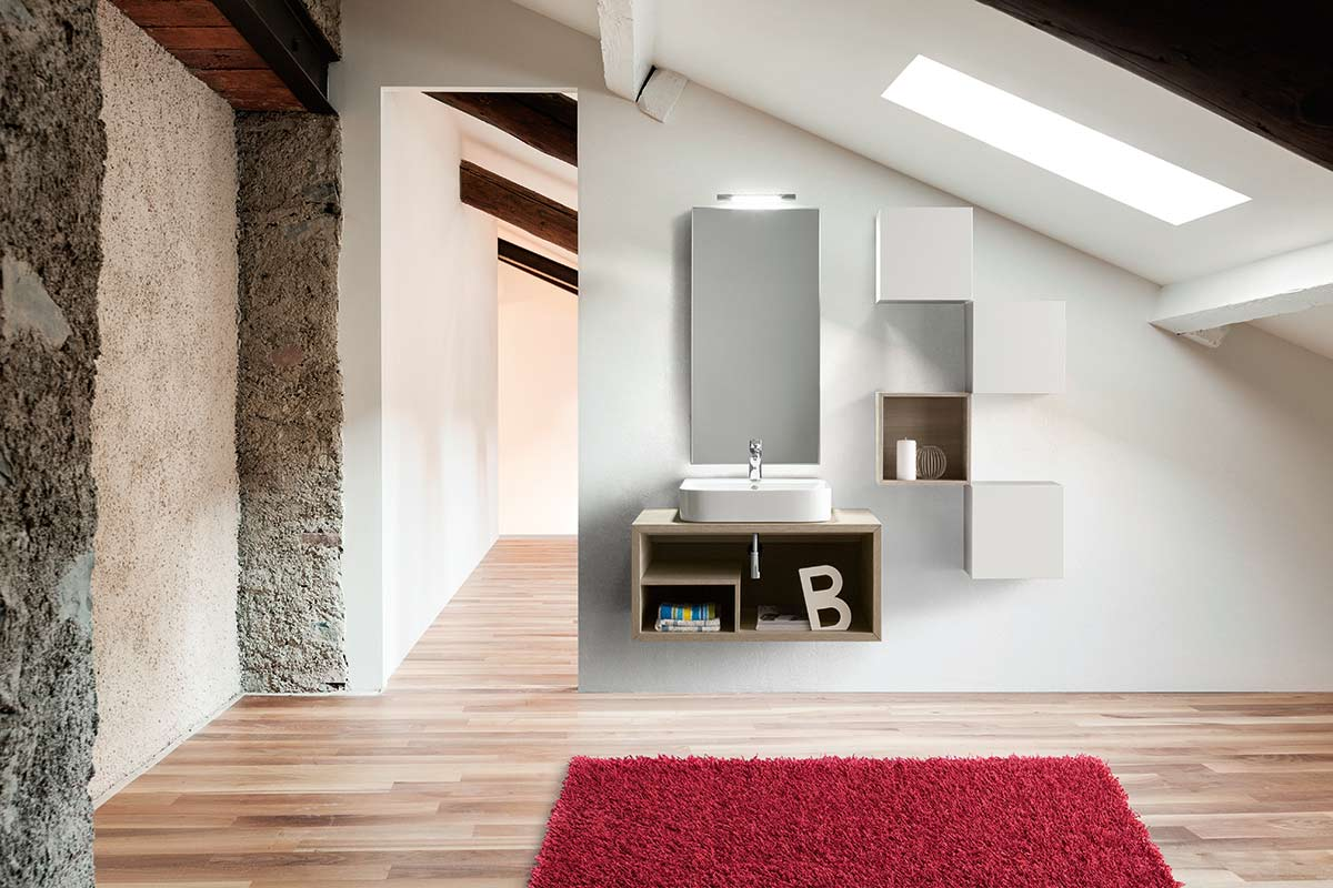 arredo bagno moderno top lops nudo - acquistabile in milano e ... - Arredo Bagno Milano E Provincia