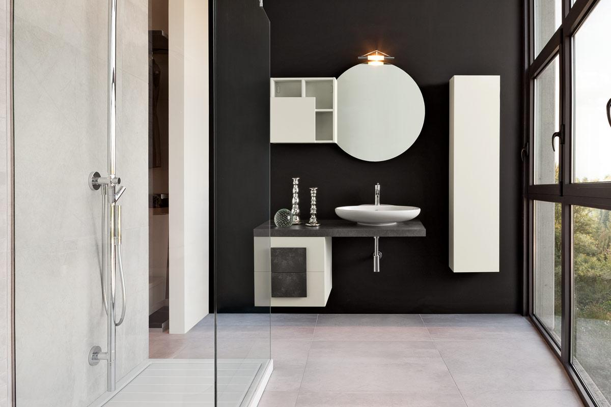 arredo bagno moderno top lops space - acquistabile in milano e ... - Foto Arredo Bagno Moderno