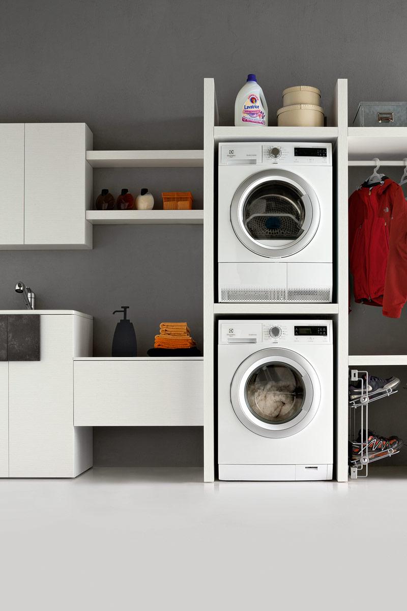 arredo bagno moderno collezione lops space lavanderia