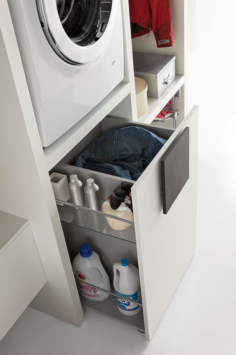 Arredo bagno moderno Top Lops Space lavanderia - Acquistabile in Milano e provincia, Monza e Brianza