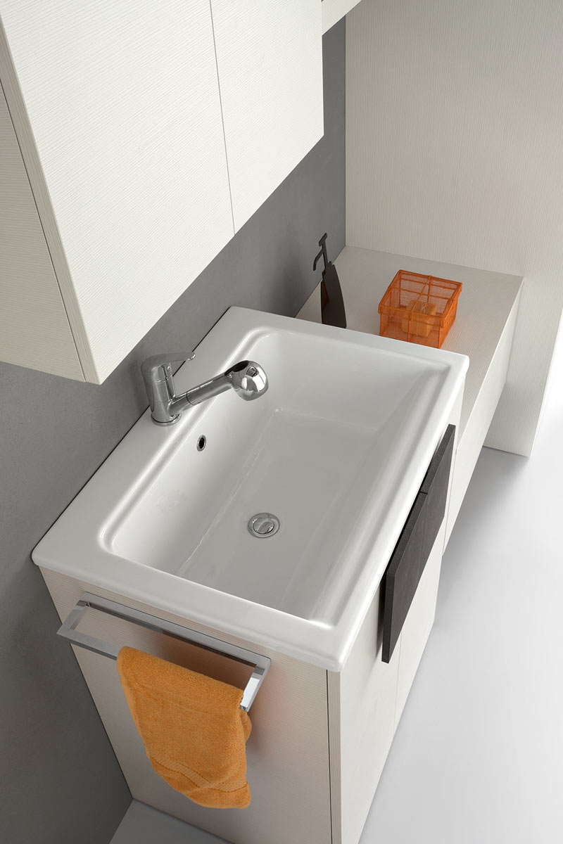 Arredo bagno moderno top lops space lavanderia for Top arredo
