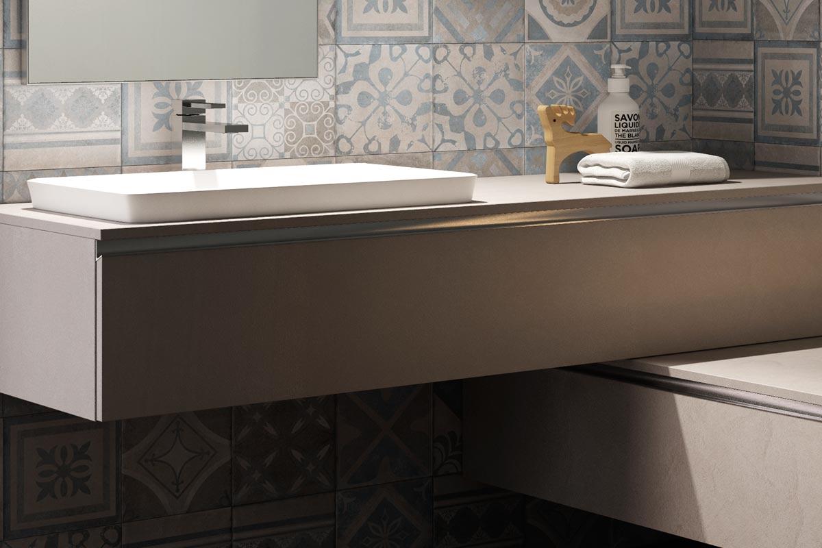 Arredo bagno moderno top lops aria progetto 1 bagni for Arredo bagno treviso e provincia