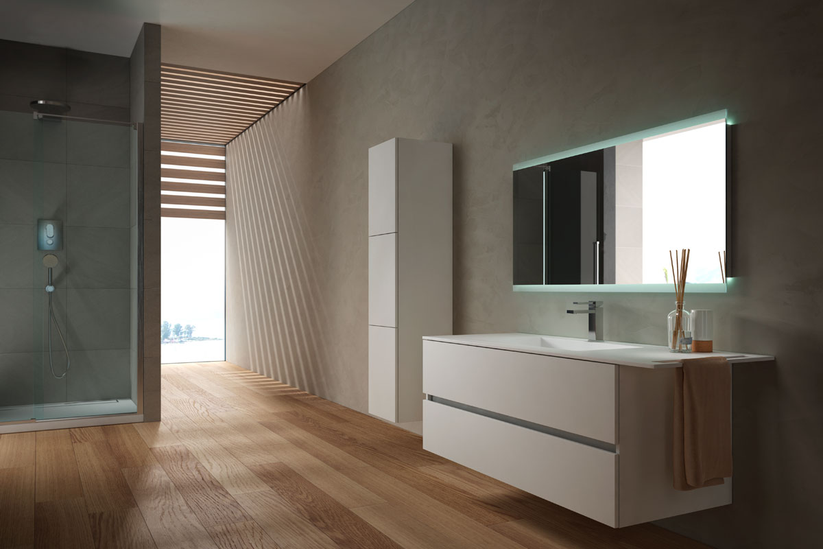 Arredo bagno moderno Top Lops Aria Progetto 2 - Acquistabile in ...