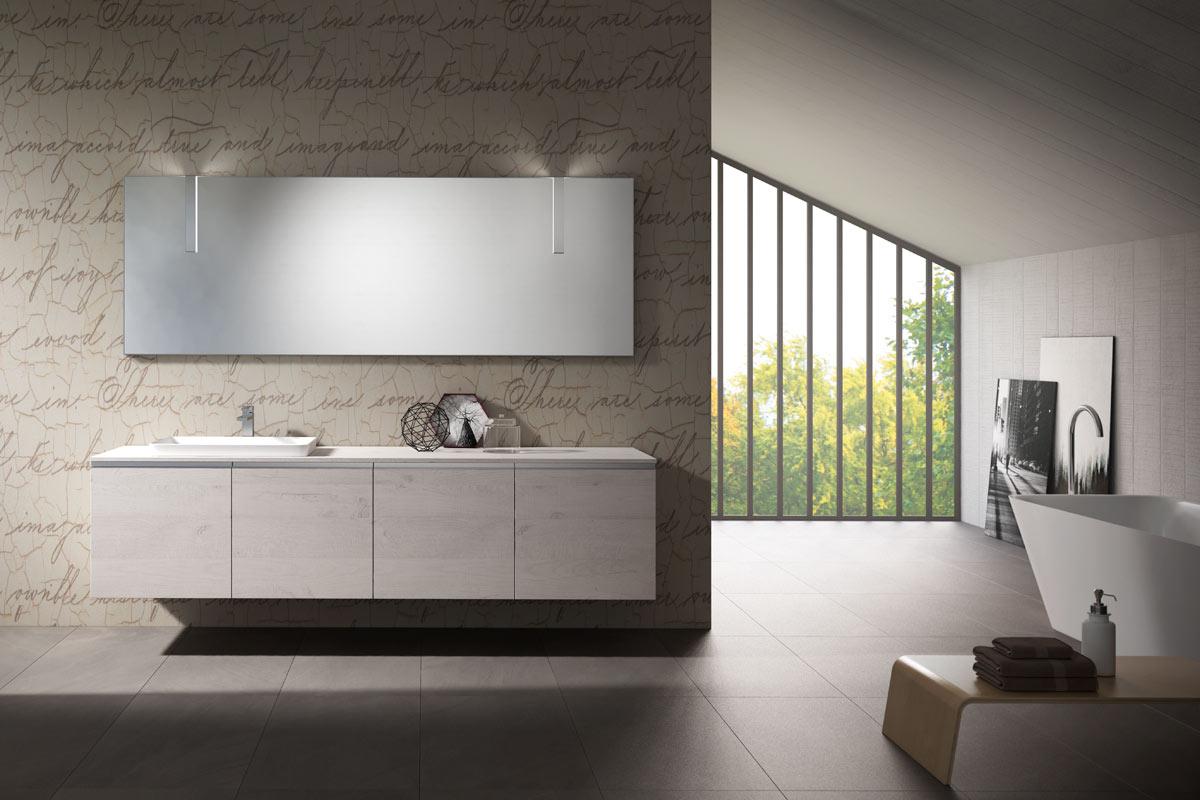 Arredo bagno moderno top lops aria progetto 1 for Lops arredo bagno