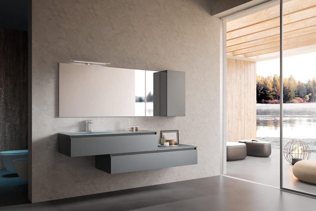 Arredo bagno moderno top lops aria progetto 4 bagni acquistabile in milano e provincia - Arredo bagno brianza ...