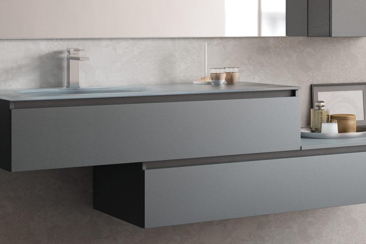 Arredo bagno moderno top lops aria progetto 4 bagni for Lops arredo bagno