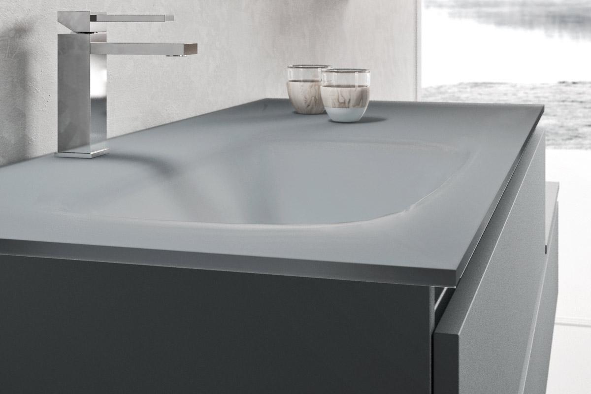 Arredo bagno moderno Top Lops Aria Progetto 4 - Acquistabile in ...