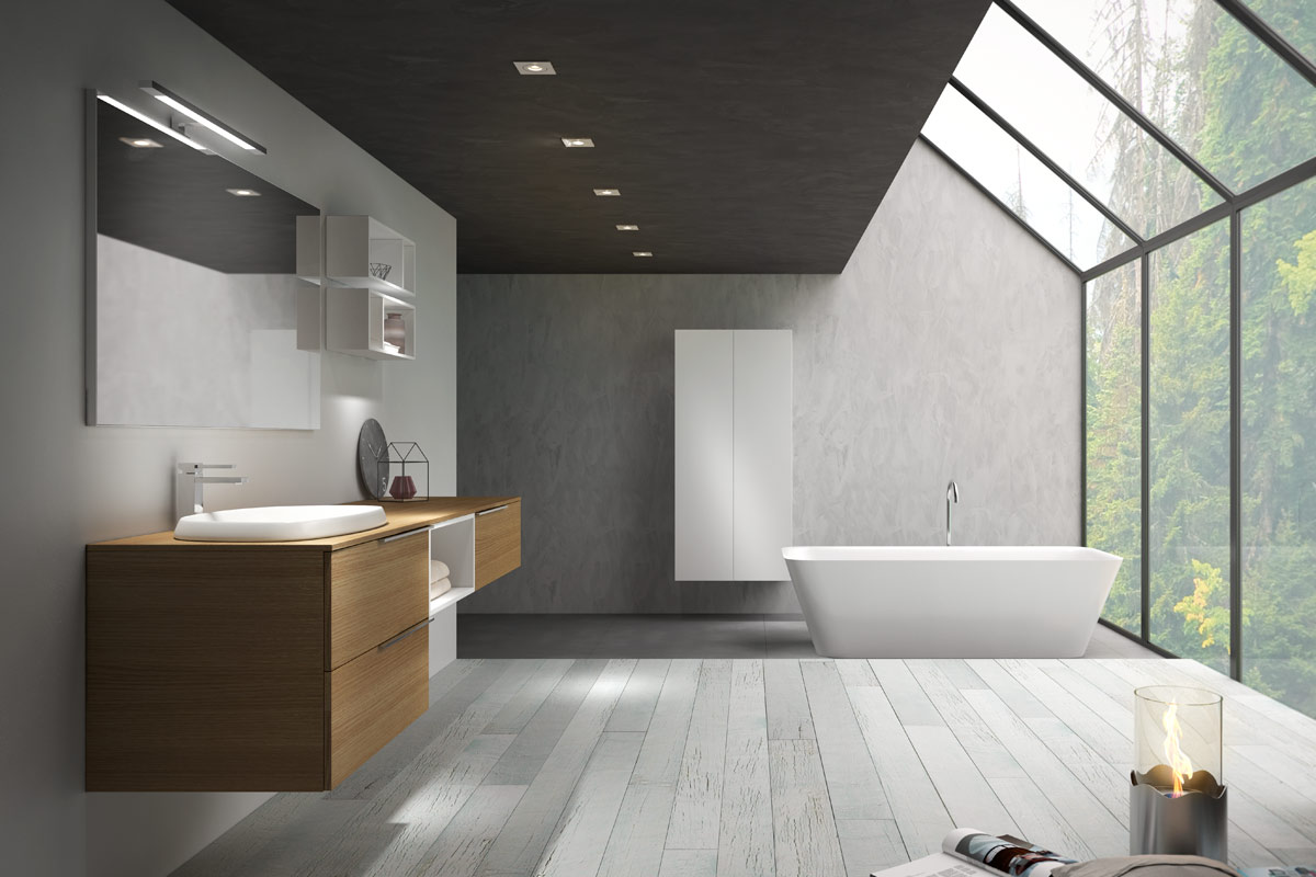 Arredamento bagno moderno good base with arredamento bagno moderno elegant arredamento bagno - Arredo bagni moderni immagini ...