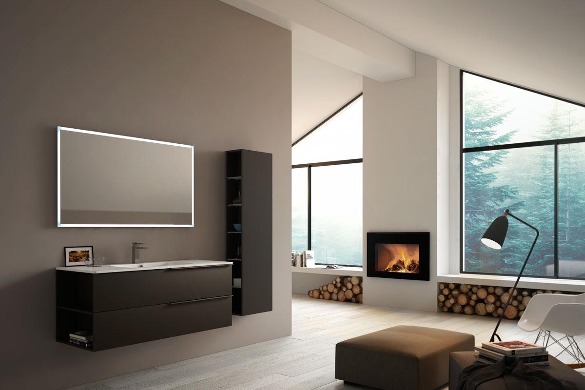 Arredo bagno moderno Top Lops Aria Progetto 6 - bagni - Acquistabile ...