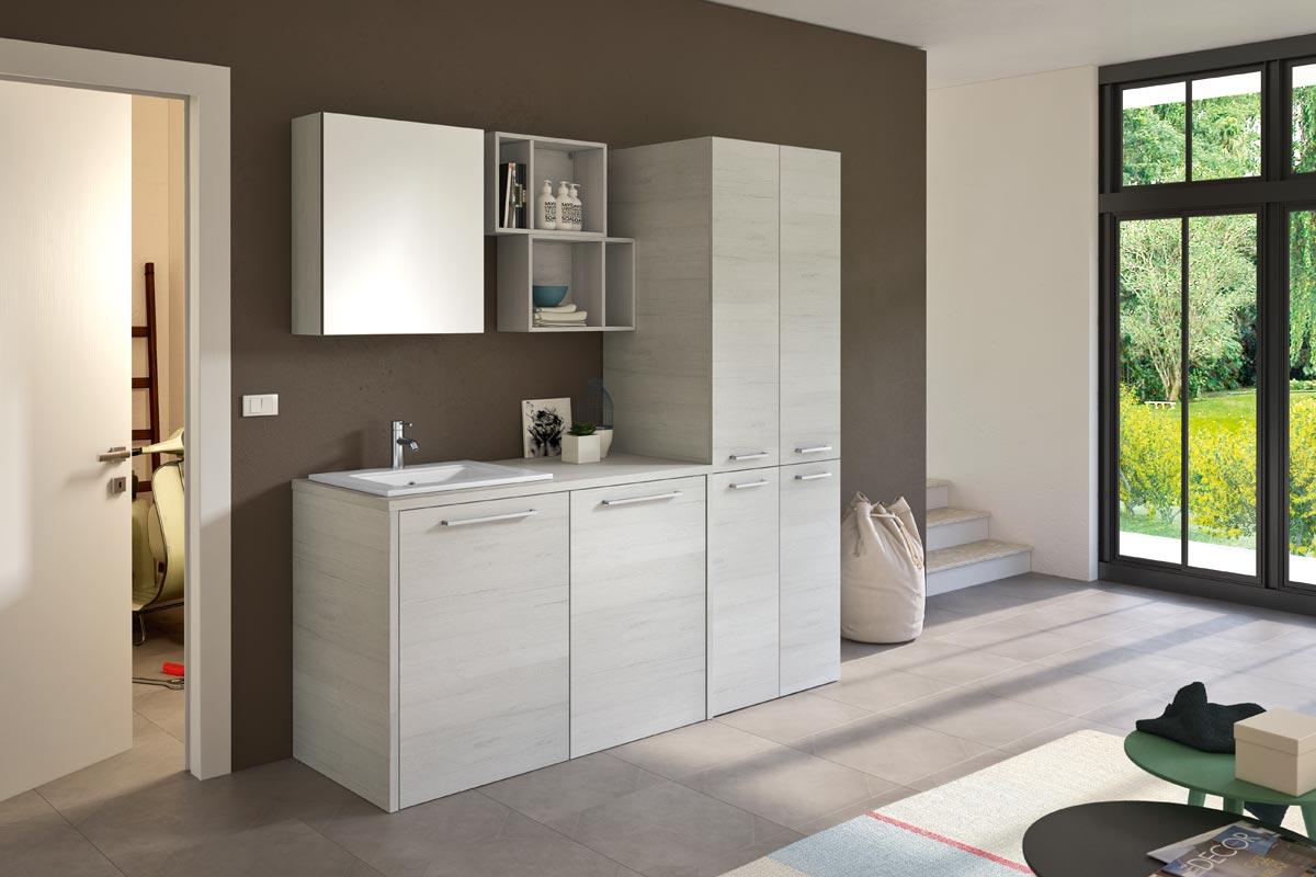 Articoli Per Bagno Milano arredo bagno lavanderia top lops quick progetto 4 - arredo