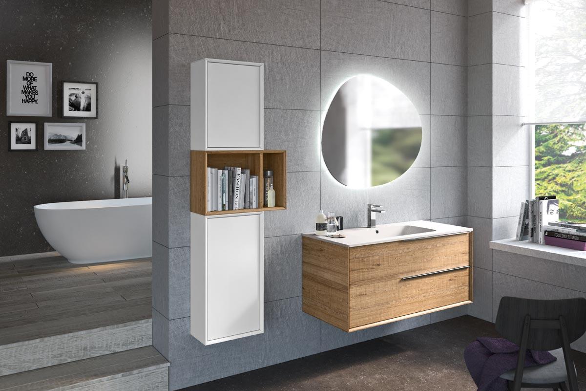Arredo bagno moderno top lops urban progetto 1 bagni acquistabile in milano e provincia - Arredo bagno grigio ...