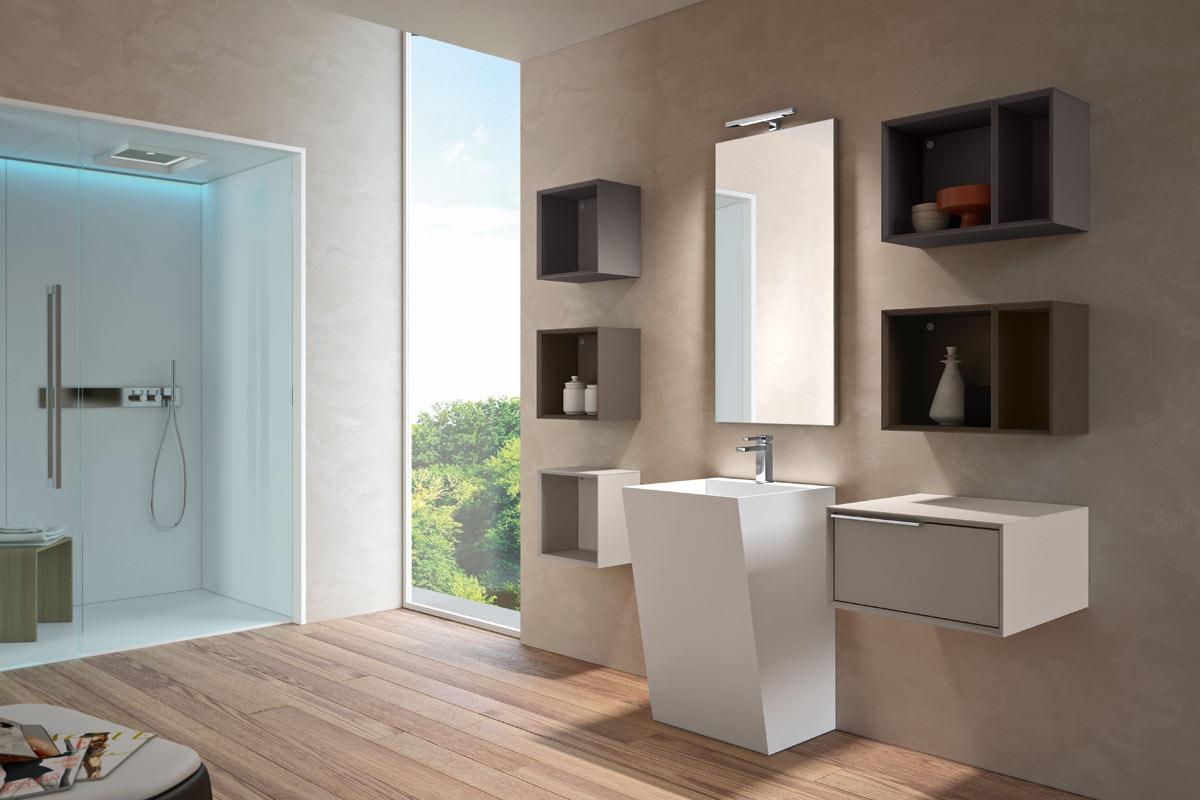 Arredo bagno moderno Top Lops Urban Progetto 2 - Acquistabile in ...