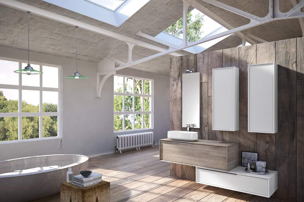 Articoli Per Bagno Milano arredo bagno moderno top lops urban progetto 5 - bagni