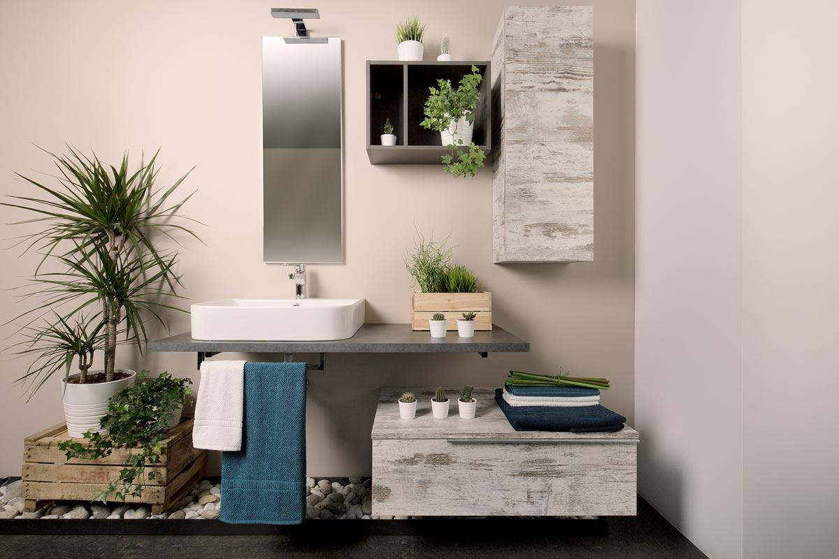 Arredo bagno moderno Easy Lops Artico - Acquistabile in Milano e ...