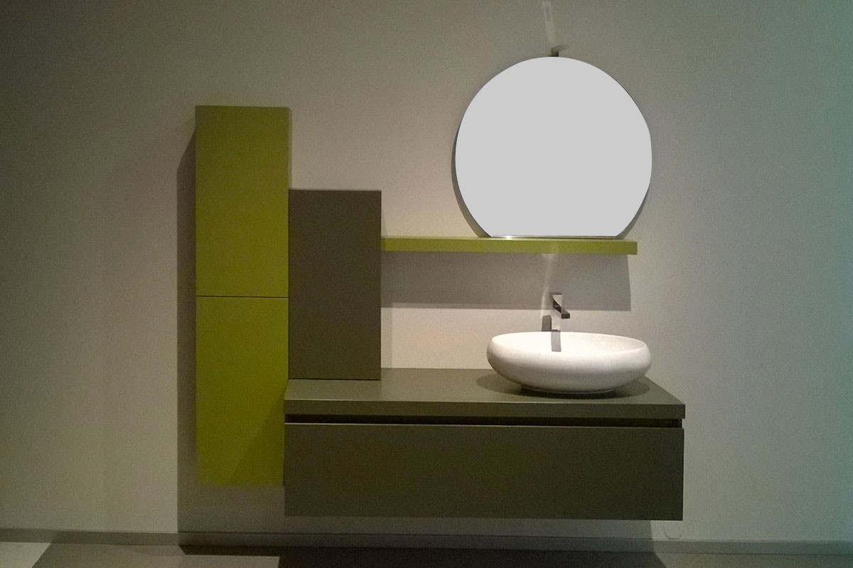 Arredo bagno outlet Top Lops And One verde - Acquistabile in Milano ...