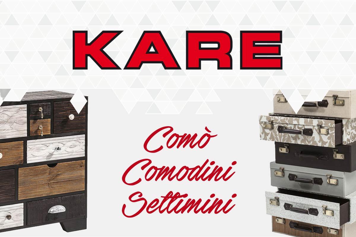 Como 39 comodini settimanali moderni kare kare como for Mobili settimanali moderni