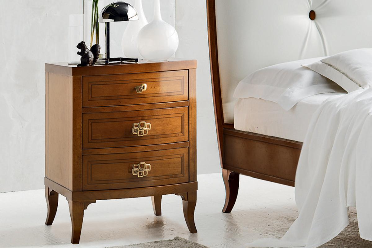 Comodino classico le fablier luna acquistabile in milano - Mobili fablier camere da letto ...